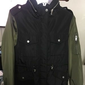 Forever 21 Lightweight utility jacket